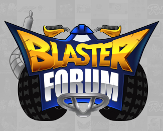 Blaster Forum Logo Design