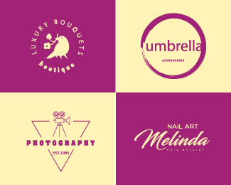Beautiful Feminine Logos