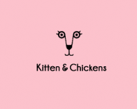 Kitten & Chickens