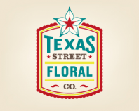 Texas Street Floral Co. ~ Full Logo ~