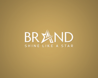 Star  - Letter A logo design