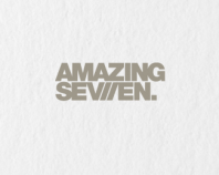 Amazing Seven /logo on white
