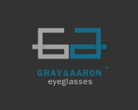 gray & Aaron eyeglasses dark