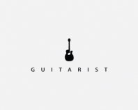 Guitarist Logo Design