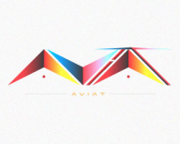 AviaT- typography test