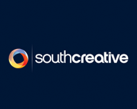 South Creative (Alternate blue BG)