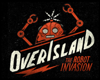 Over Island - The Robot Invasion