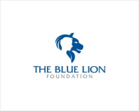blue lion foundation identity