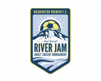 River Jam Soccer Tournament Logo