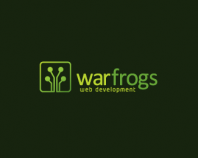 war frogs - web development