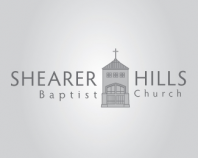 Shearer Hills Baptist Church greyscale